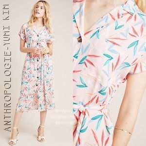 NWT ANTHROPOLOGIE YUMI KIM MARIAN SHIRTDRESS XS